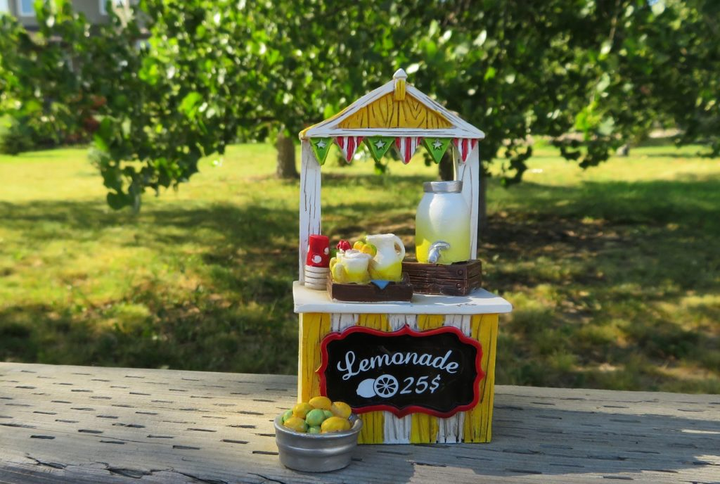 Become and Entrepreneur - Lemonade Stand